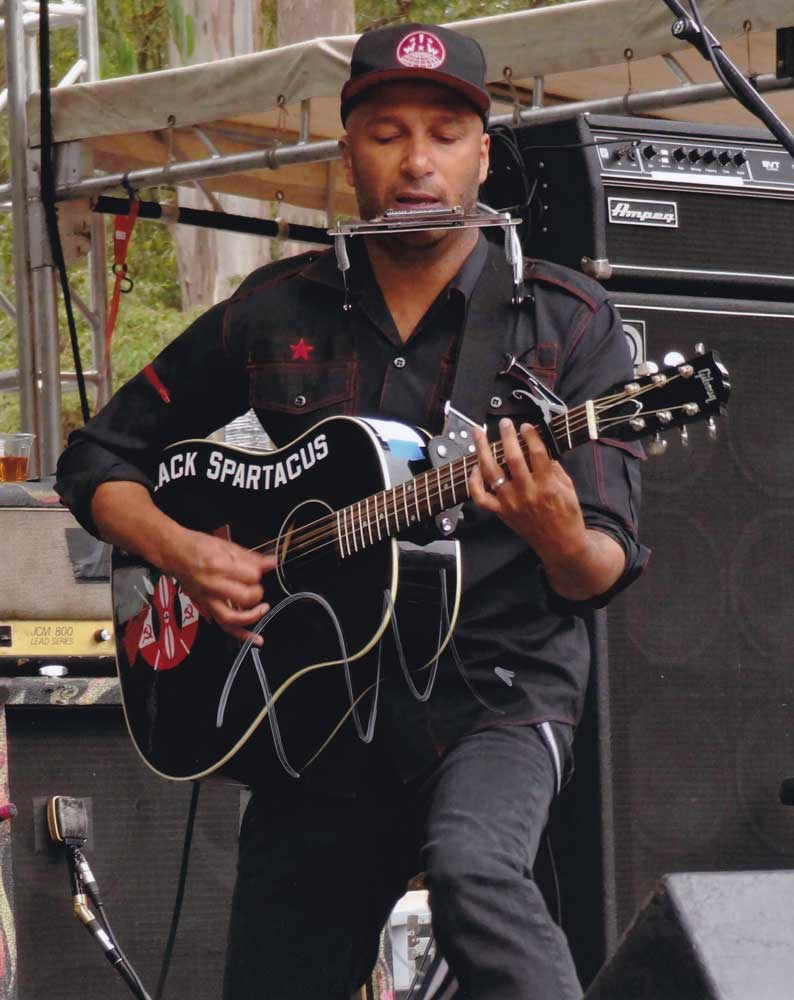 Tom Morello in-person autographed photo
