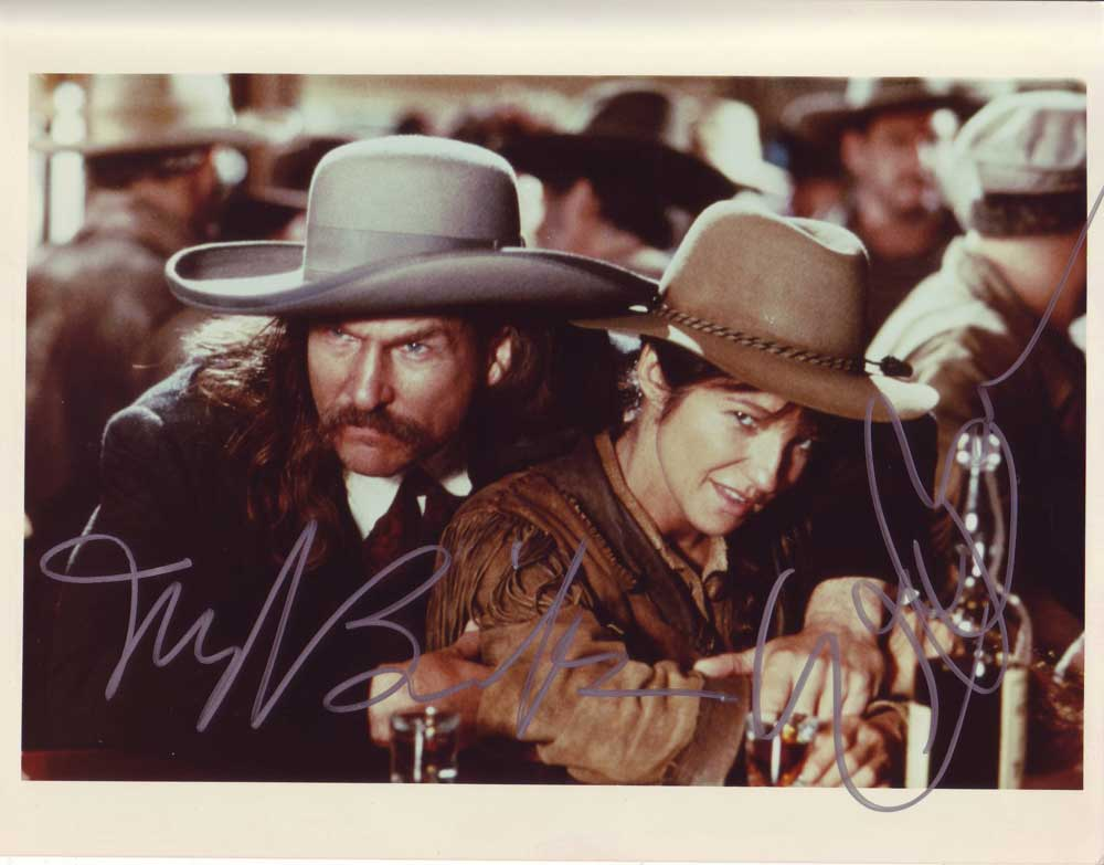Wild Bill in-person autographed cast photo