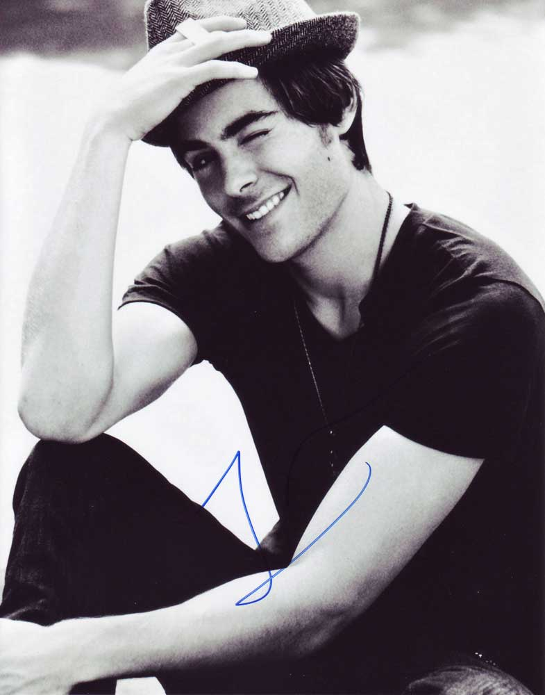 Zac efron in person autographed photo