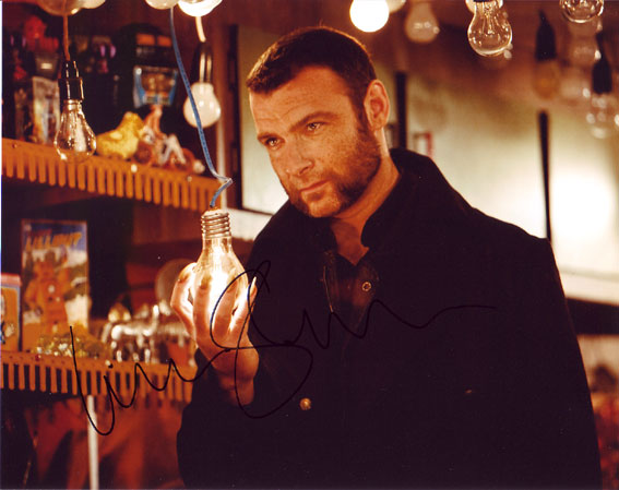Liev Schreiber Autographed photo for sale