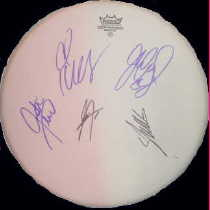 *Nsync in-person autographed Drum Head