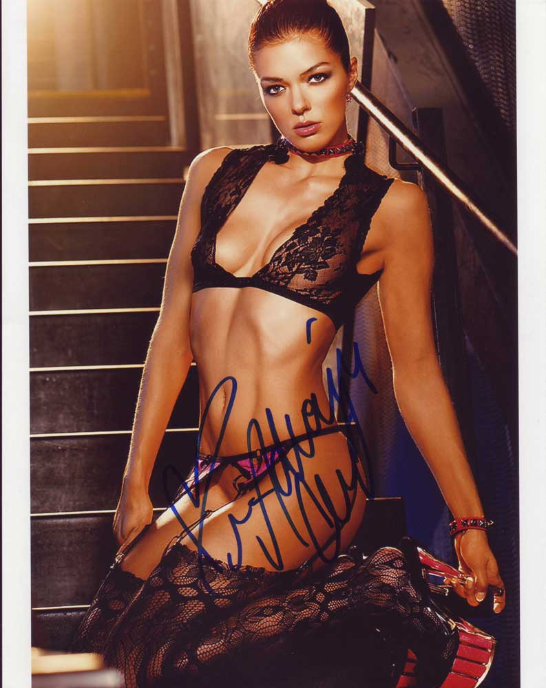 Adrianne Curry in-person autographed photo