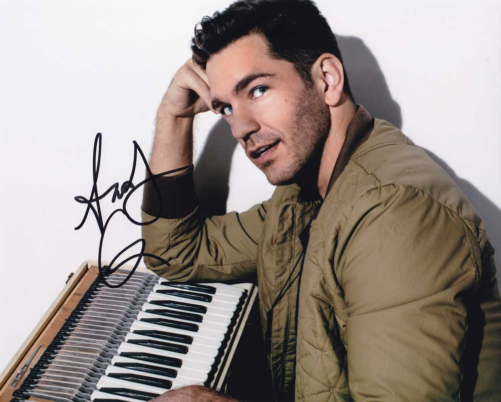 Andy Grammer in-person autographed photo