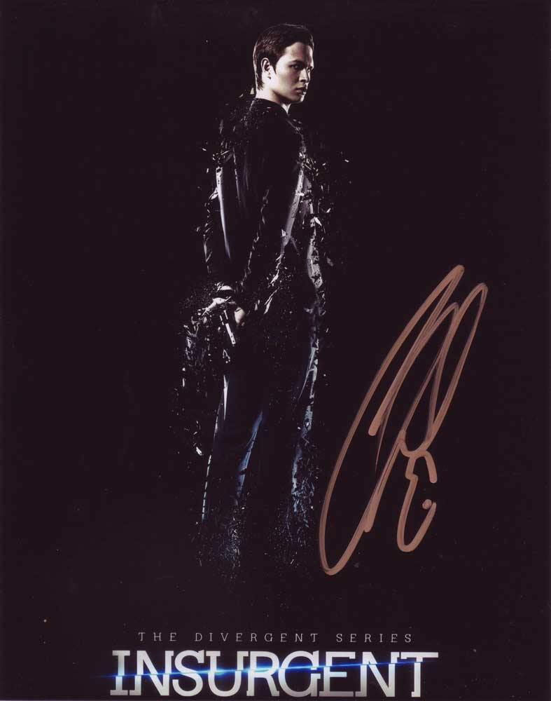 Ansel Elgort In-person Autographed Photo