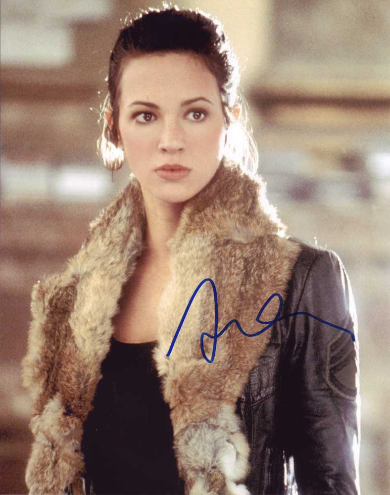 Asia Argento in-person autographed photo