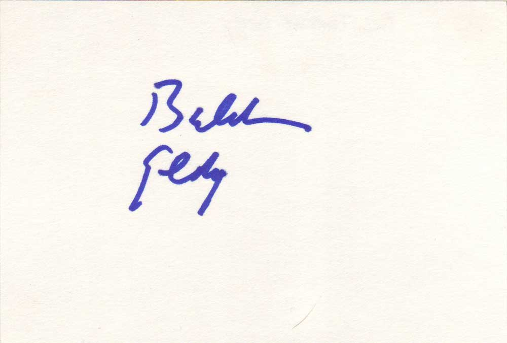 Balthazar Getty Autographed Index Card