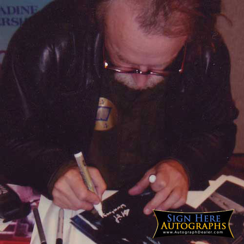 Brad Dourif in-person autographed photo