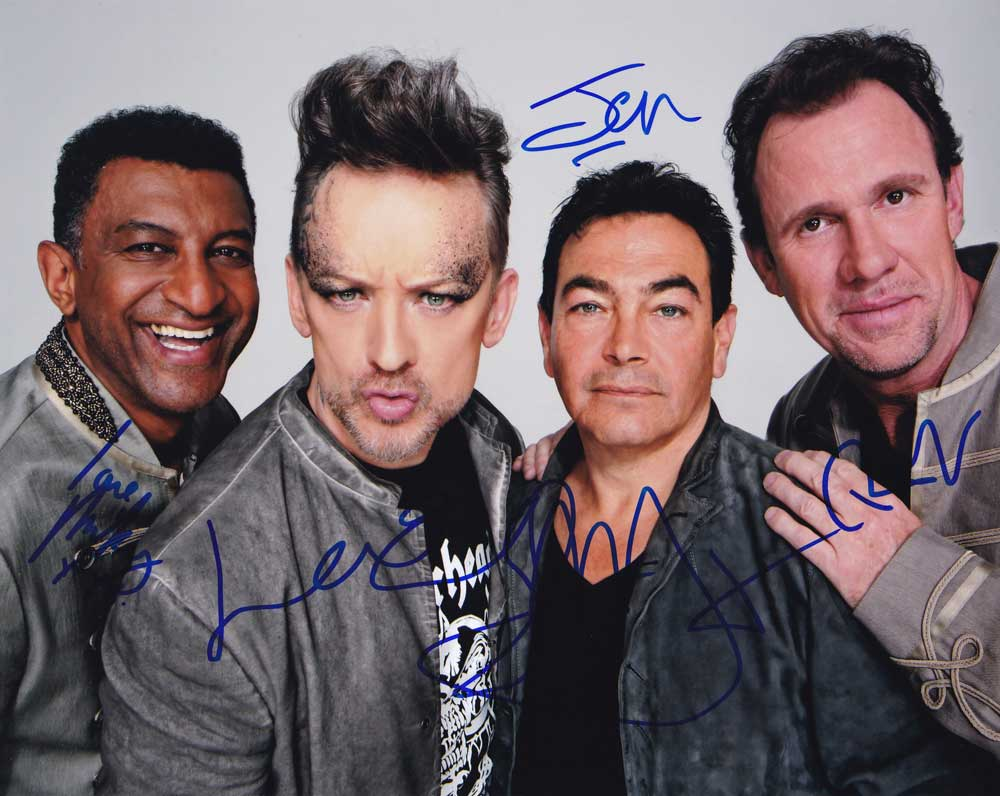 Culture Club in-person autographed photo