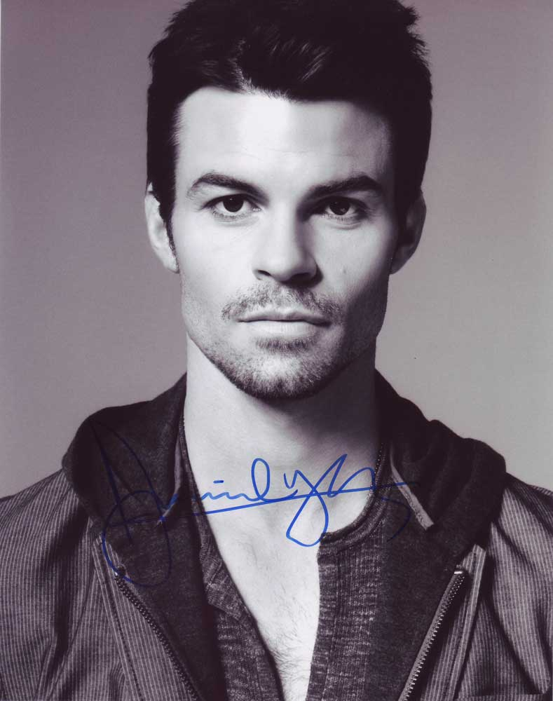 Daniel Gillies In-person Autographed Photo
