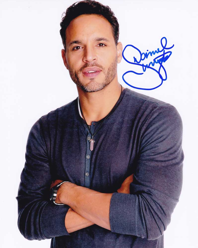 Daniel Sunjata in-person autographed photo