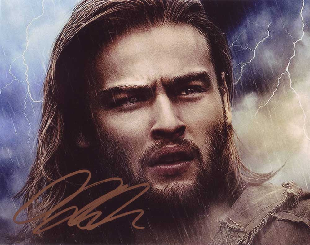 Douglas Booth in-person autographed photo