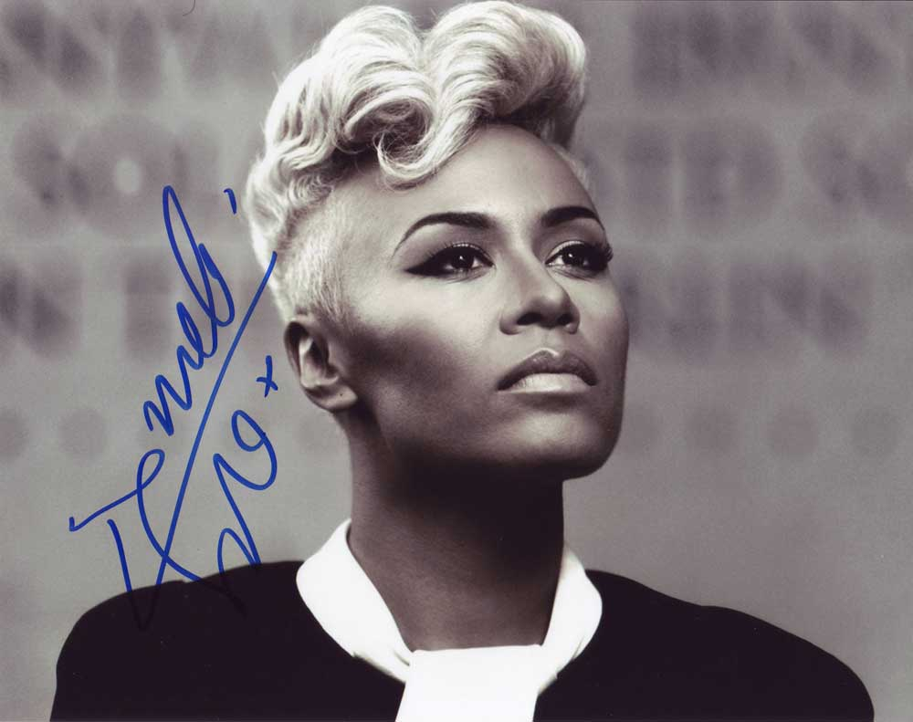 Emeli Sande in-person autographed photo