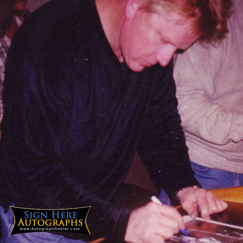Gary Busey in-person autographed photo from The Buddy ...