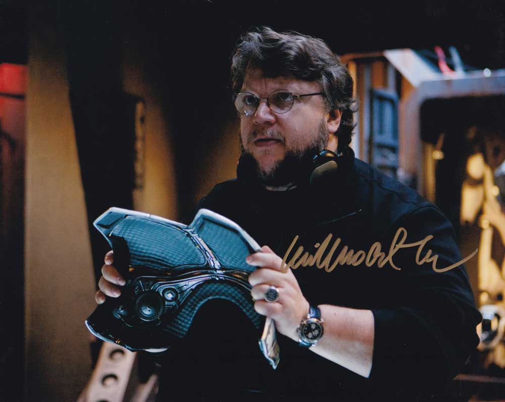 Guillermo del Toro in-person autographed photo