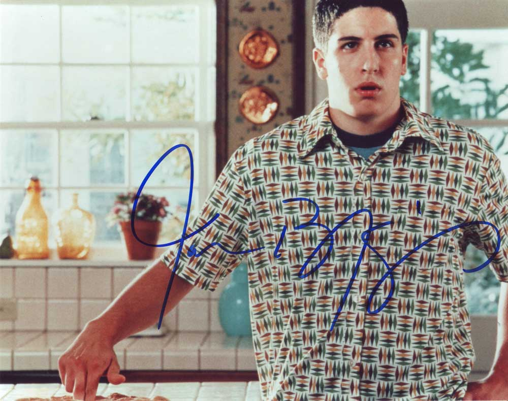Jason Biggs in-person autographed photo