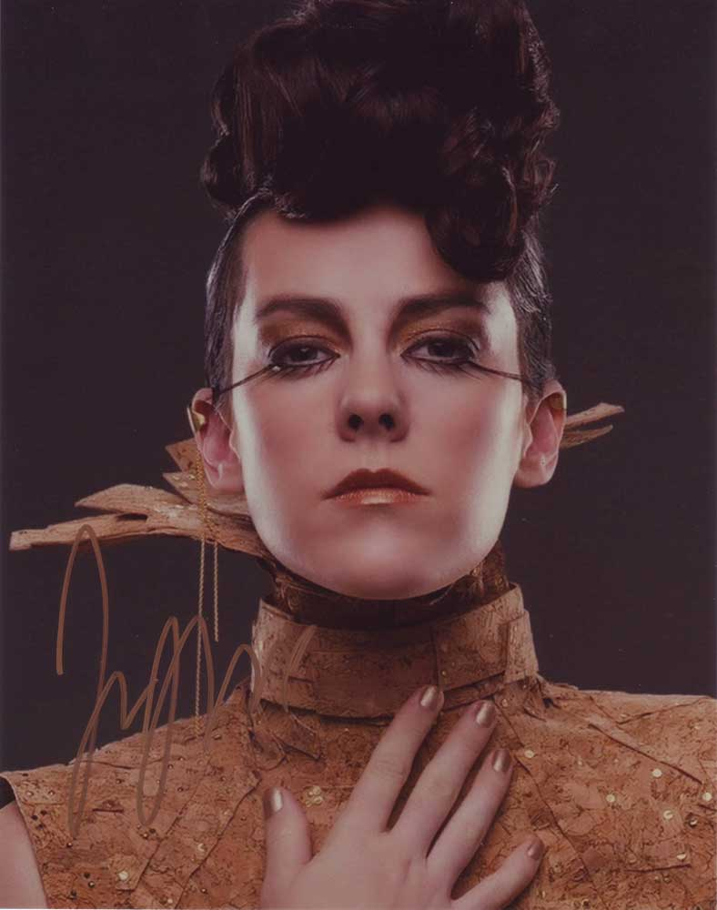 Jena Malone in-person autographed photo
