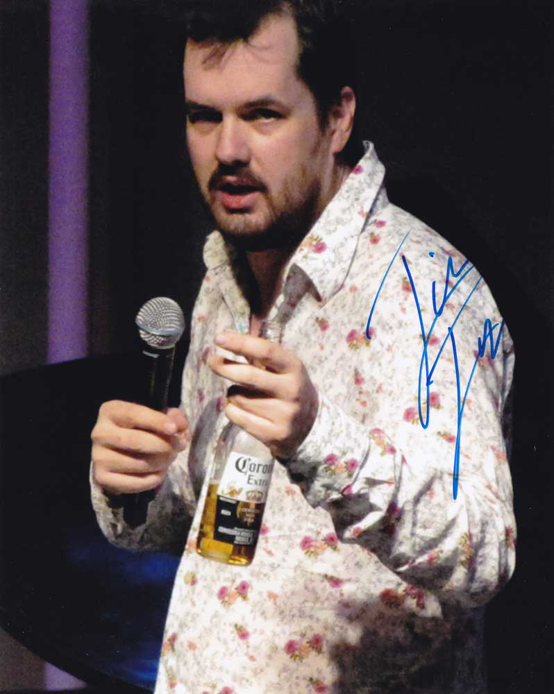 Jim Jefferies in-person autographed photo