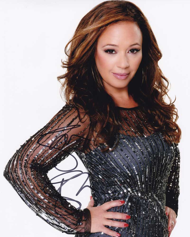 Leah Remini In-person Autographed Photo