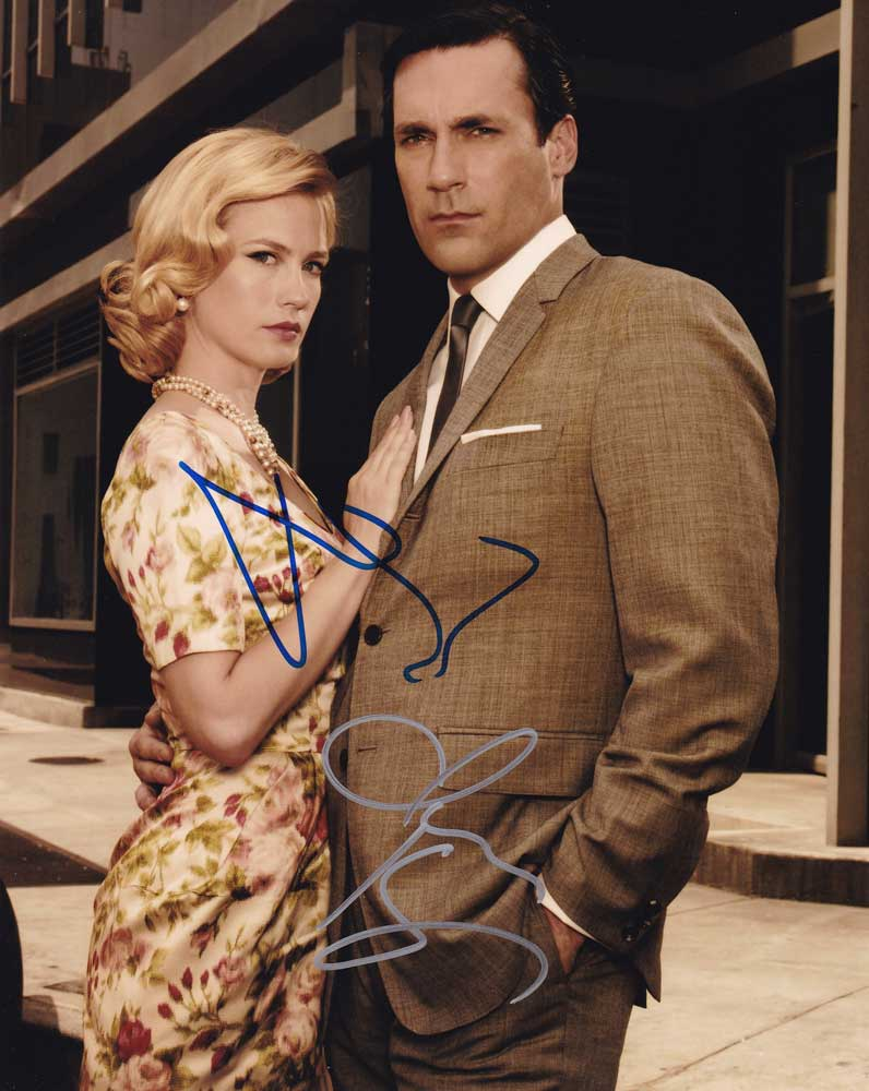 Mad Men In-person Autographed Cast Photo