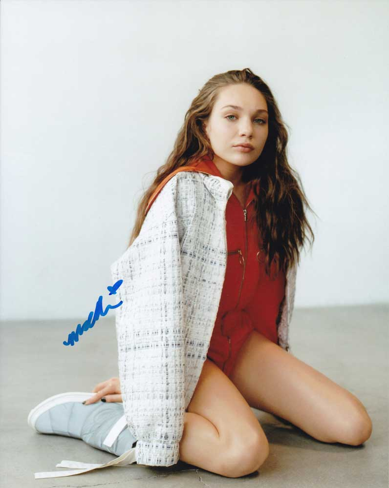 Maddie Ziegler In-person Autographed Photo