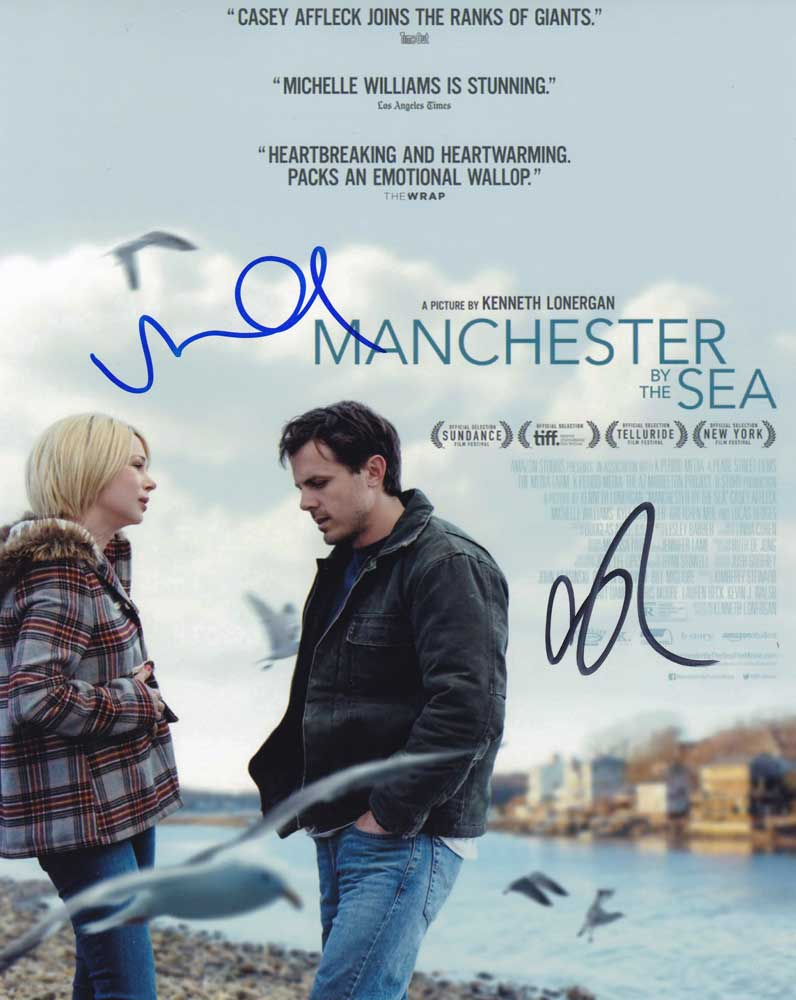 Manchester by the Sea In-person autographed Cast Photo