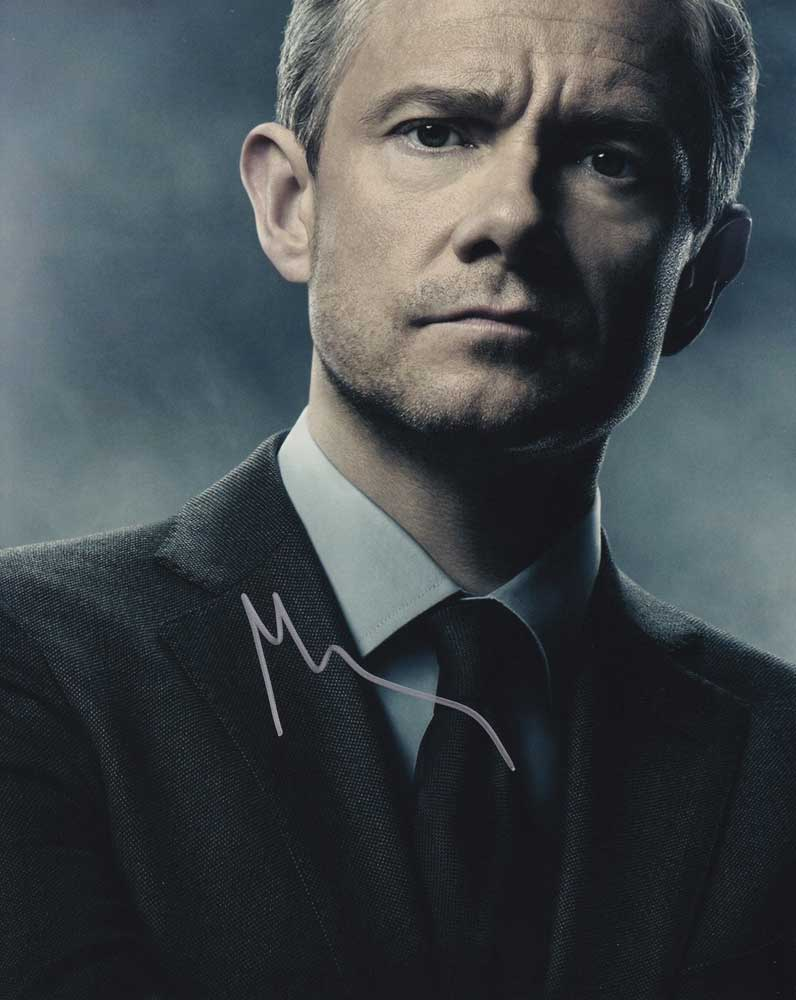 Martin Freeman In-person Autographed Photo