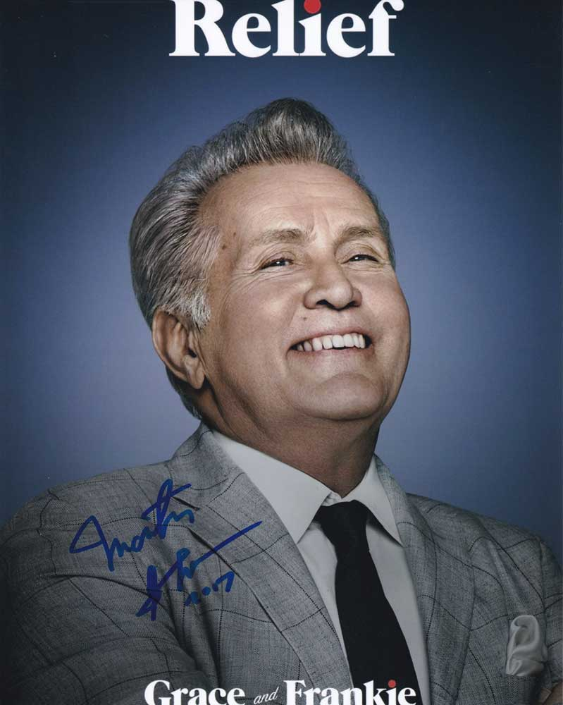 Martin Sheen in-person autographed photo