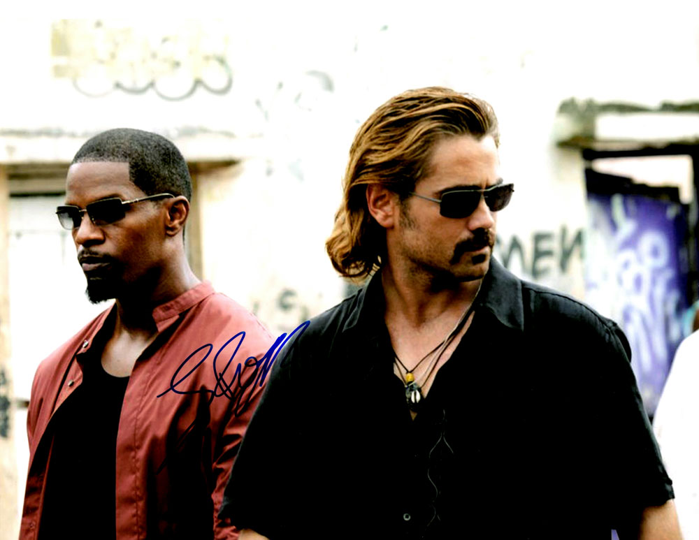 Miami Vice n-person autographed 10 x 13 cast Photo