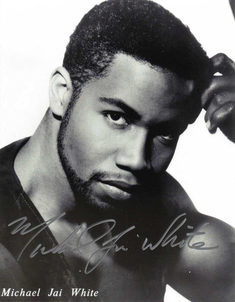 Michael Jai White in-person autographed photo