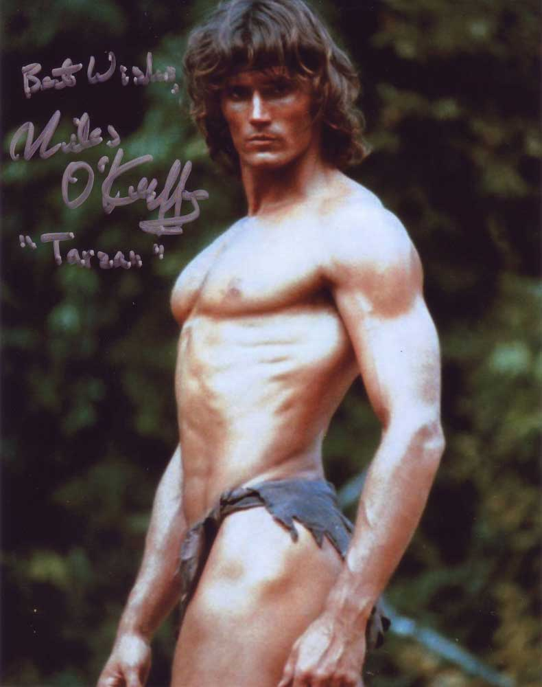 Miles O'Keeffe in-person autographed photo
