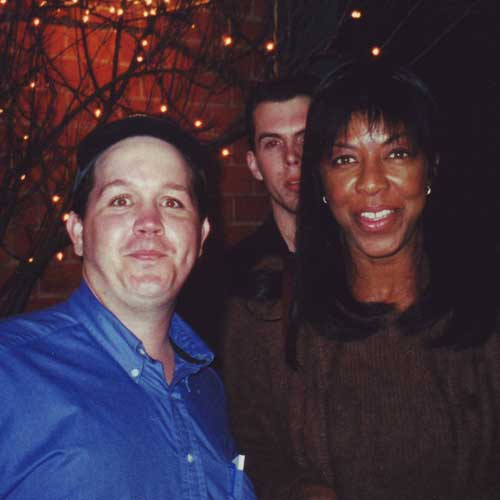 Natalie Cole in-person autographed Pick Guard
