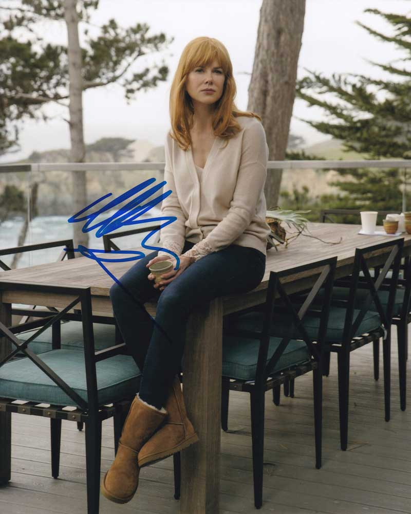 Nicole Kidman in-person autographed photo