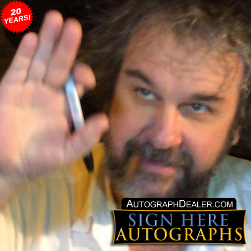 Peter Jackson in-person autographed photo