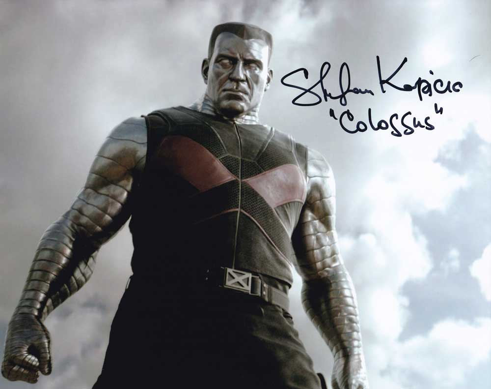 Stefan Kapicic in-person autographed photo Deadpool