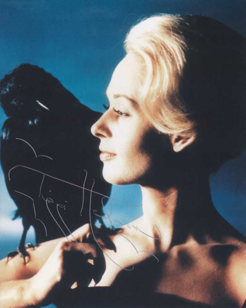 Tippi Hedren in-person autographed photo
